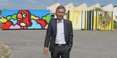 Cédric Denoyel, PDG de Capsa Container. Crédits : Laurent Cerino