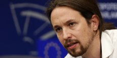 Pablo Iglesias fait partie des cinq eurodéputés de Podemos . Il a été désigné par la Gauche radicale européenne comme candidat à la présidence du Parlement (Reuters)
