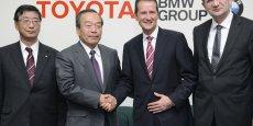 Sinagture des accords BMW-Toyota le 24 janvier 2013