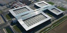 La nouvelle usine et siège social de Turbomeca, à Bordes (PyrénéesAtlantiques).