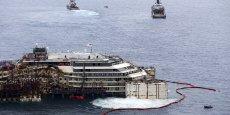 Le ministre italien de l'Environnement a expliqué que l'épave du Costa Concordia ne passera pas dans les eaux territoriales françaises. (Photo : Reuters)