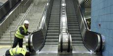 Le coût de remplacement des escalators est compris entre 6 et 15 millions d'euros selon la RATP. (Photo : Reuters)