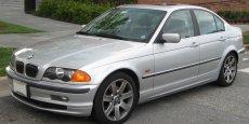 La BMW Série 3 incriminée.