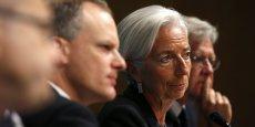 La patronne du FMI a toutefois présenté comme une bonne nouvelle le fait que l'économie européenne soit en train de commencer à se remettre de la crise. REUTERS/Kevin Lamarque