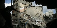 Le nord de la bande de Gaza subit les destructions de la guerre