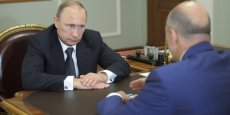 Les européens devraient proposer de nouvelles sanction contre le régime de Vladimir Poutine.   REUTERS
