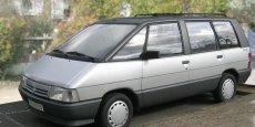 Le Renault Espace, pionnier du monospace familial, s'est écoulé à 1,2 million d'exemplaires. | REUTERS
