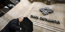 Née de la fusion en 2010 de trois caisses d'épargne de Catalogne pour éviter leur faillite, Catalunya Banc représente une belle prise pour BBVA. (Photo : Reuters)