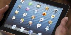 La taille exacte du nouvel IPad sera de 12,9 pouces, selon des sources proches d'Apple, interrogées par Bloomberg.