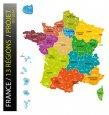 Selon l'Insee, les 13 nouvelles régions seront davantage homogènes au niveau démographique et économique