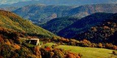 En Ardèche, les habitants des zones peu denses et éloignés sont à 16 minutes des services courants.