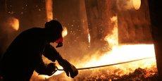 La production industrielle, déjà affectée depuis plusieurs années par la crise de la métallurgie en Europe et la dégradation des relations avec la Russie, s'est affichée en juin en chute de 5% sur un an. (Photo : Reuters)