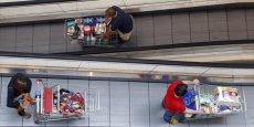 La consommation de produits alimentaires a augmenté de 0,8% en août.