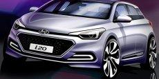 Voilà à quoi ressemblera la nouvelle petite Hyundai i20