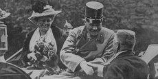 François-Ferdinand et Sophie à Sarajevo le 28 juin 1914.