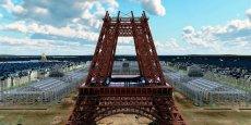 Une image de « Paris 3D » à travers les âges, production inspirée par le groupe Gédéon Programmes, et que des milliers de Parisiens purent visionner lors de la première projection sur le parvis de l'Hôtel de Ville, en 2012.