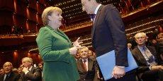 Mario Draghi veut désormais faire céder Angela Merkel