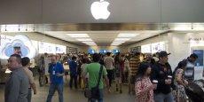 Seize Apple Stores sont concernés par la mise en demeure de la CNIl, survenue le 14 octobre.