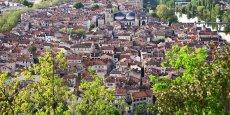 Cahors, préfecture du Lot