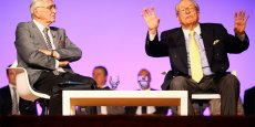 Serge Laroze et Jean-Marie Le Pen