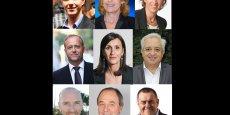 Vincent Terrail-Novès, Dominique Faure, Stéphanie Guiraud-Chaumeil, Marc Péré, Karine Traval-Michelet, Alain Chaléon, Thierry Fourcassier, Norbert Meler, Patrice Gausserand