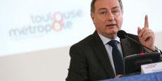 Jean-Luc Moudenc, nouveau président de Toulouse Métropole