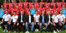 L'équipe de Luzenac, promue en Ligue 2