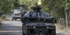 Les forces ukrainiennes paraissent désormais cernées dans la zone entre le fief rebelle de Donetsk, la frontière russe à l'est et le port stratégique de Marioupol au sud sur les bords de la mer d'Azov.