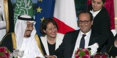 Notre priorité commune c'est la paix et la sécurité et notamment au Moyen Orient. Cette exigence est plus que jamais nécessaire maintenant que la crise syrienne a débordé en Irak et qu'un mouvement terroriste (L'Etat islamique) prétend devenir un Etat, a souligné François Hollande.