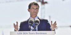 Une visite du chantier de la LGV Tours-Bordeaux a donné l'occasion à Manuel Valls d'annoncer le lancement des enquêtes publiques pour les liaisons vers Toulouse et l'Espagne