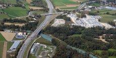 L'hôpital Alpes-Leman et sa station d'épuration, point de départ du projet de recherche.