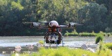 En France, certains médias utilisent d'ores et déjà des drones comme outils journalistiques.