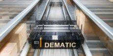 L'entreprise Dematic aux 1,1 milliards d'euros de chiffre d'affaires en 2013, est présente dans 35 pays, principalement en Chine/Asie, Europe, États-Unis.