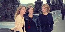 Vanessa Broche, Alisson Municchi et Eva Phillis ont créé leur entreprise juste après leurs études.