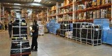 Dans les entrepôts (ici celui abritant les stocks de Rue du Commerce), les préparatifs de noël ont commencé en septembre.