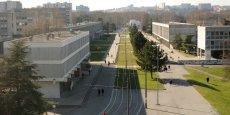 Le campus La Doua, sur lequel se situe l'Université Lyon 1.
