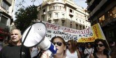 La Grèce est en proie aux conflits sociaux depuis le début de la violente crise financière qui a frappé le pays en 2010.
