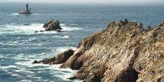 La Pointe du Raz, l'un des lieux emblématiques des côtes bretonnes, classé «grand site  de France».