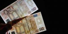 Les faux billets de 50 représentent plus du quart du nombre de faux billets saisis en 2014.