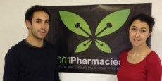Cédric O'Neill et Sabine Safi, cofondateurs de 1001pharmacies