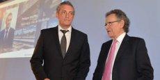 Philippe Saurel et Max Lévita, président et vice-président de M3M