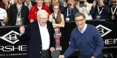 Bill Gates et Warren Buffet forment encore le duo de tête des Américains les plus riches selon Forbes.
