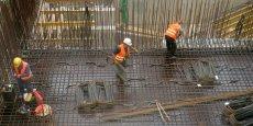 A la différence de l'industrie où is sont en progression, les effectifs intérimaires dans la construction continuent de diminuer.