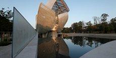 La fondation Louis Vuitton, à Paris. La place parisienne est aussi riche de ses collectionneurs