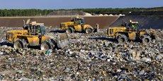 Pyro Green Innovations présente sa solution comme une alternative à l'enfouissement de déchets ultimes (Photo : centre d'enfouissement de Lapouyade - 33)