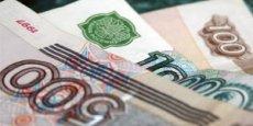 Le rouble a perdu près de 31% face au dollar depuis le début de l'année.