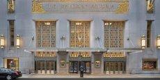 L'hôtel Waldorf-Astoria a été construit en 1931 sur Park Avenue à New York.