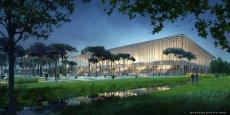 Le nouveau stade de Bordeaux (en image de synthèse ici) doit être livré au 1er trimestre 2015.
