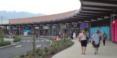 Les habitants se pressent déjà pour découvrir ce retail park.