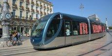 Le tramway enregistre une progression de fréquentation de 12,1 % en 2017 sur le réseau TBM.